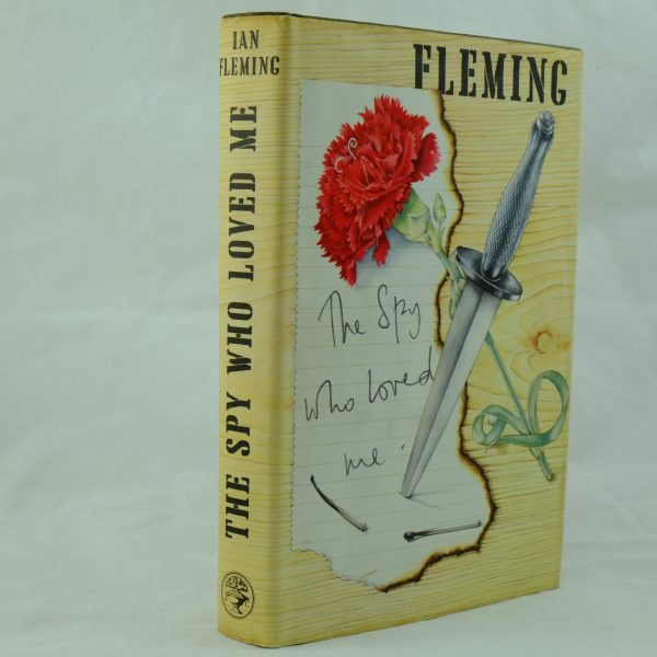 The Spy Who Loved Me by IAn Fleming Flaw on printing (5)