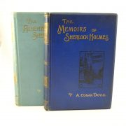 Adventures and Memoirs of Sherlock Holmes - A Conan Doyle pair first edition