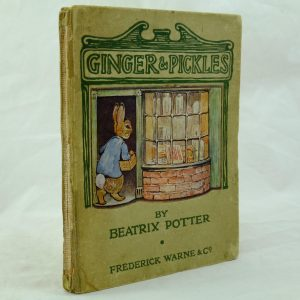 Ginger & Pickles by Beatrix Potter 1st edition