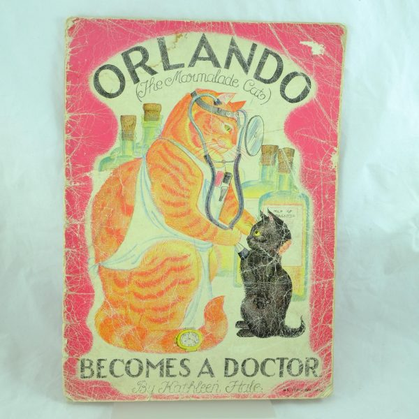 Orlando Becomes a Doctor – Kathleen Hale first edition 1944 (1)