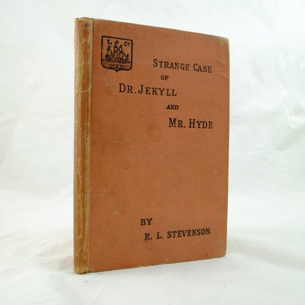 Strange Case of Dr Jekyll and Mr Hyde – Robert Louis Stevenson first edition (1)