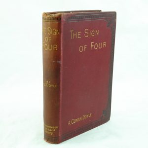 The Sign of Four first edition by A Conan Doyle