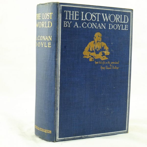 The Lost World by Arthur Conan Doyle 1st edition (5)