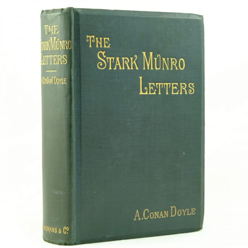 The Stark Munro Letters by Arthur Conan Doyle 1st edition