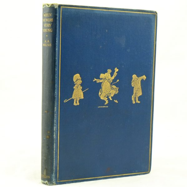 When We Were Very Young 1st ed, 2nd state A. A. Milne (9)