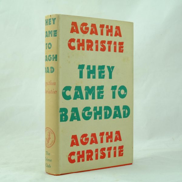 1st edition they came to baghdad agatha christie (1)