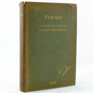 Poems associated copy J M Barrie W E Henley