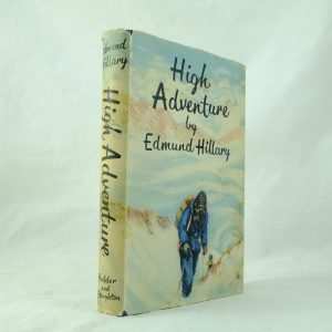Signed High Adventure - Edmund Hillary (2)