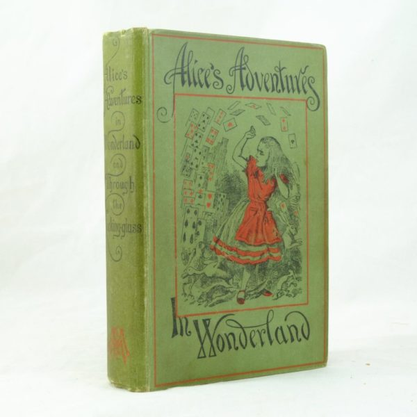 Alice's Adventures in Wonderland by Lewis Carroll 1st ed thus (4)