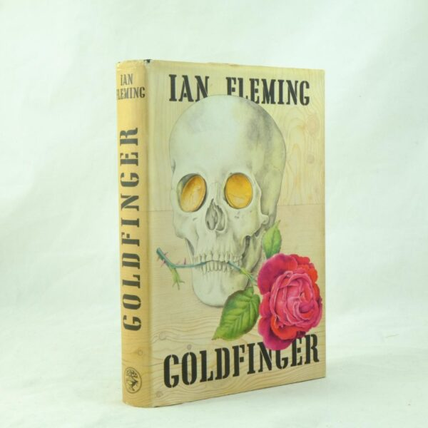 Goldfinger by Ian Fleming 1st state A cloth (6)