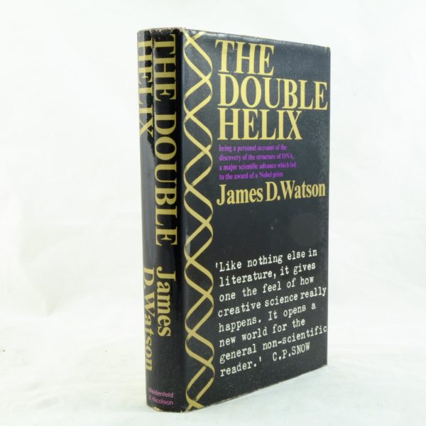 The Double Helix – James Watson 1st edition (1)