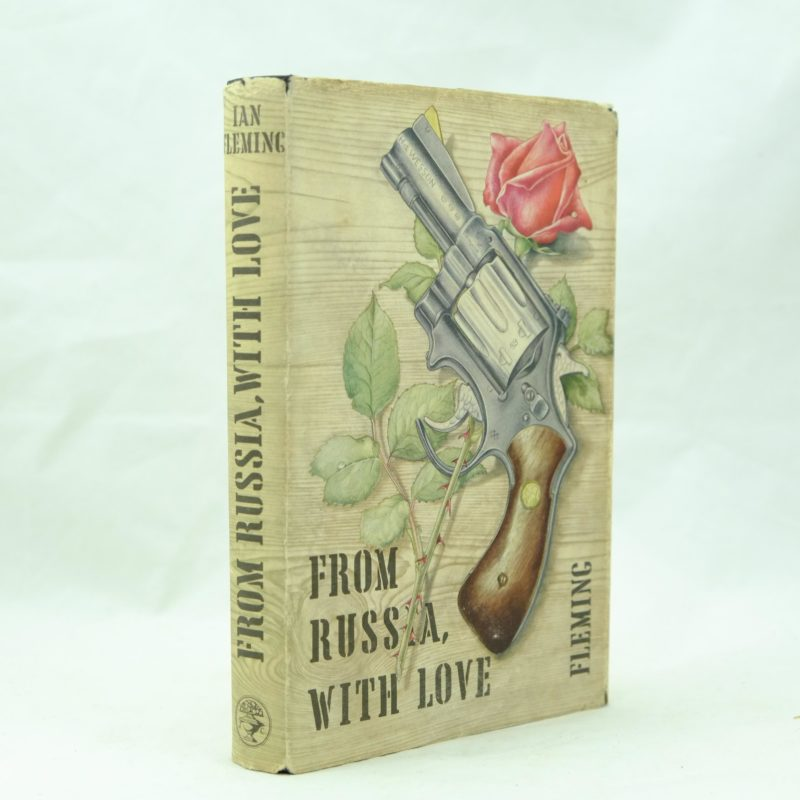 From Russia with Love by Ian Fleming price clipped