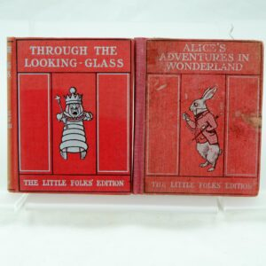 Little Folks edition Lewis Carroll Alice and Through the Looking Glass
