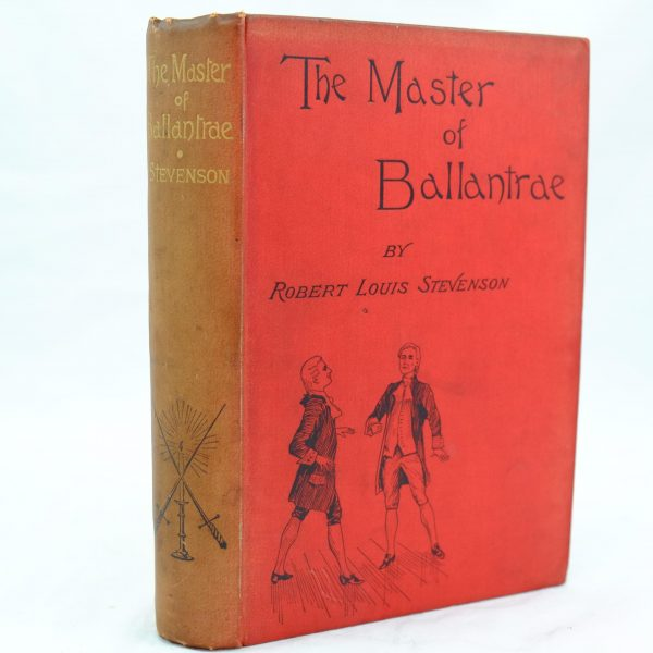 The Master of Ballantrae by Robert Louis Stevenson (1)