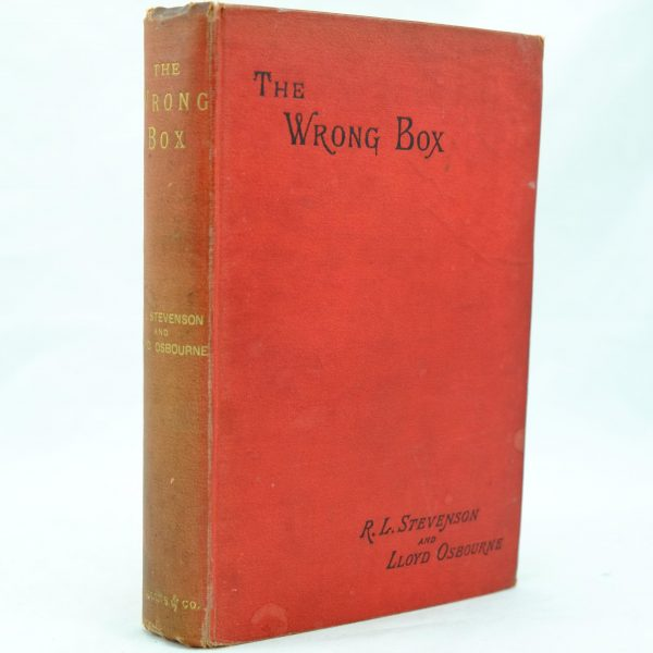 The Wrong Box by R L Stevenson (5)