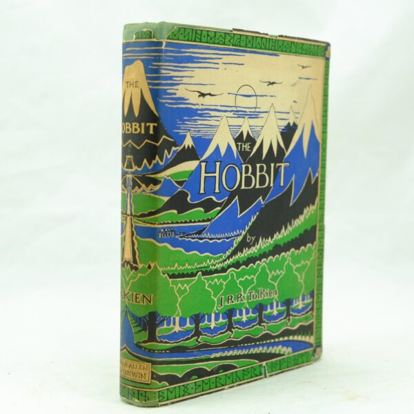The Hobbit by J R R tolkien 1st ed 2nd impression (4)