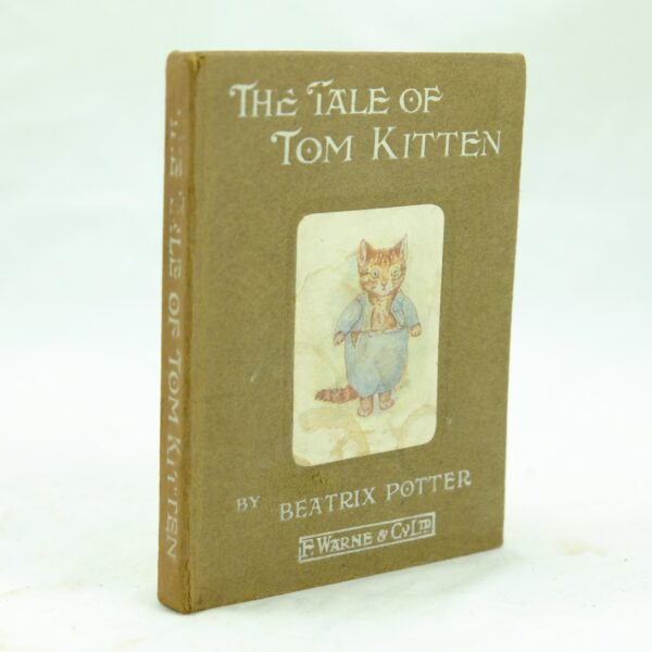 The Tale Of Tom Kitten Beatrix Potter early issue 1918 (1)