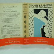 Granite and Rainbow by Virginia Woolf with wrapper