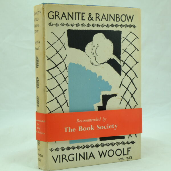 Granite and Rainbow by Virginia Woolf with wrapper (2)