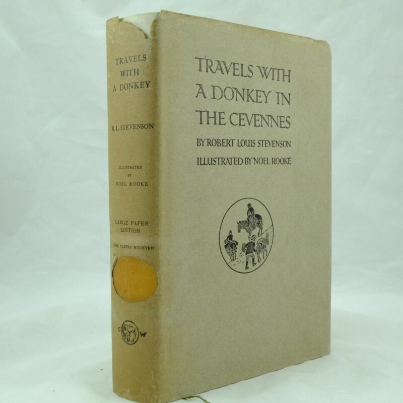 Travels with a Donkey in the Cevennes by R L Stevenson