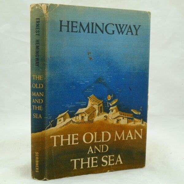 Ernest Hemingway Old Man and the Sea inscribed (1)