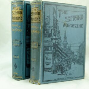 Pair of The Strand Magazine- Arthur Conan Doyle