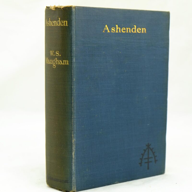 Ashenden by W Somerset Maugham