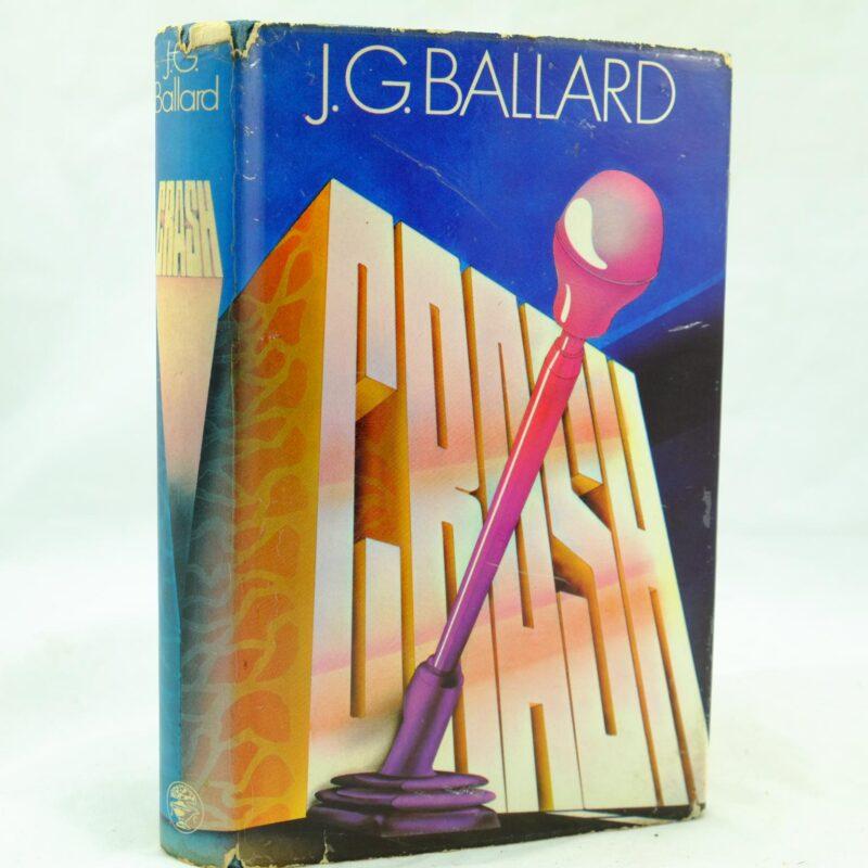 Crash by J G Ballard signed