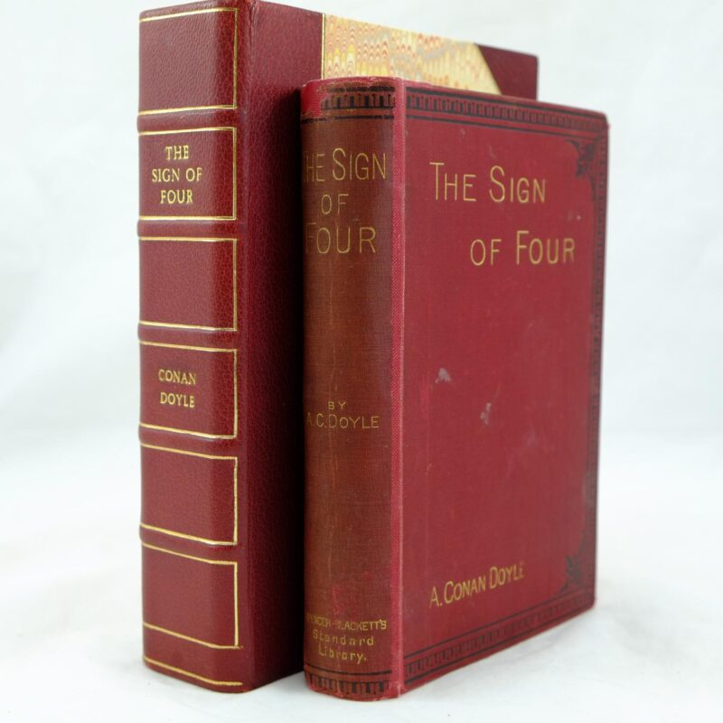 The Sign of Four (rebound) by A C Doyle