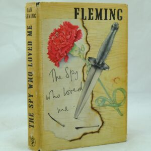 The Spy Who Loved Me by Ian Fleming with signature