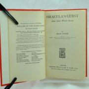 Dracula's Guest by Bram Stoker rebound
