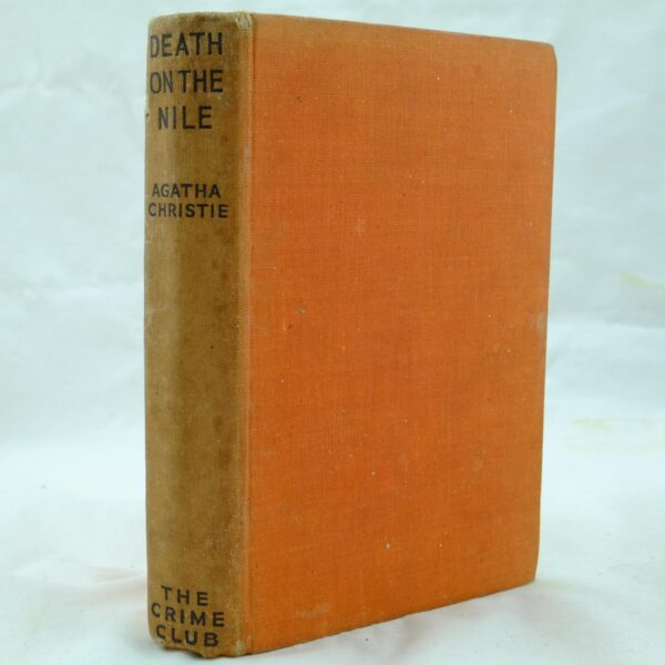 Death on the Nile by Agatha Christie no DJ (5)