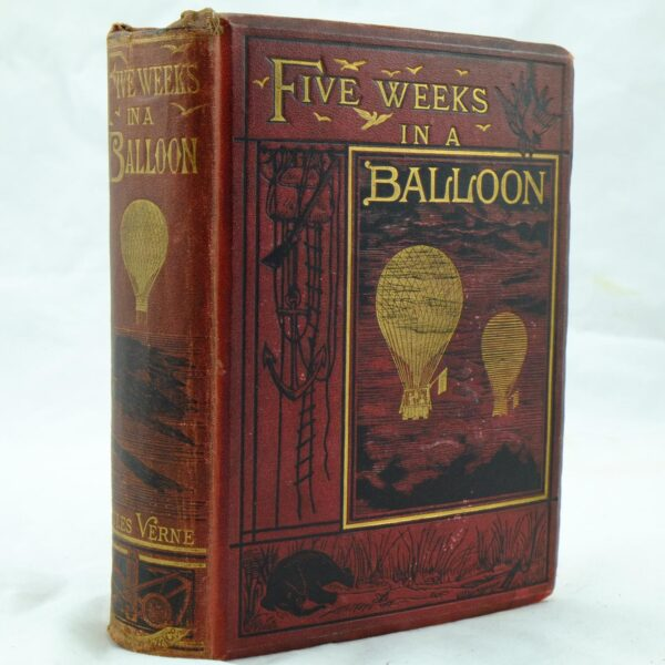 Five Weeks in a Balloon by Jules Verne (9)