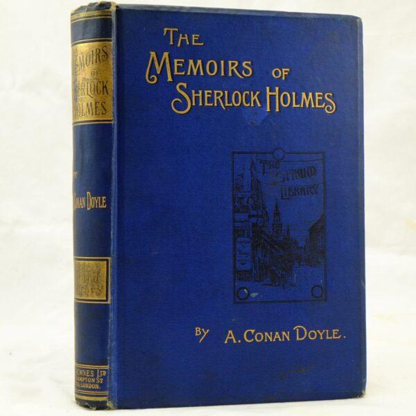 The Memoirs of Sherlock Holmes by Arthur Conan Doyle vg (1)