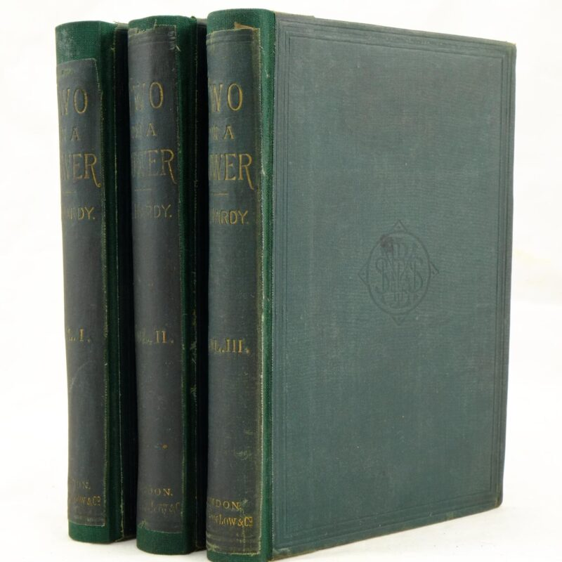 3 Volumes of Two on a Tower by Thomas Hardy