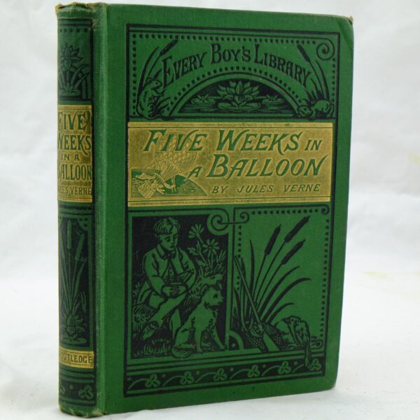 Five Weeks in a Balloon by Jules Verne (3)