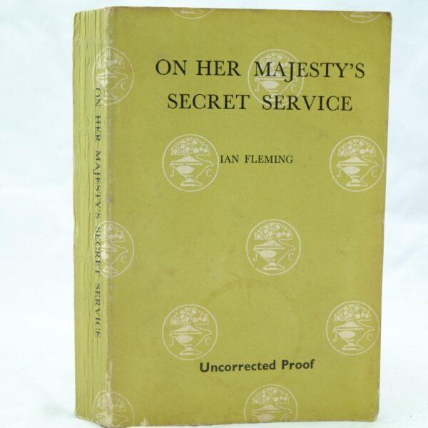 On Her Majestys Secret Service OHMSS Ian Fleming (1)