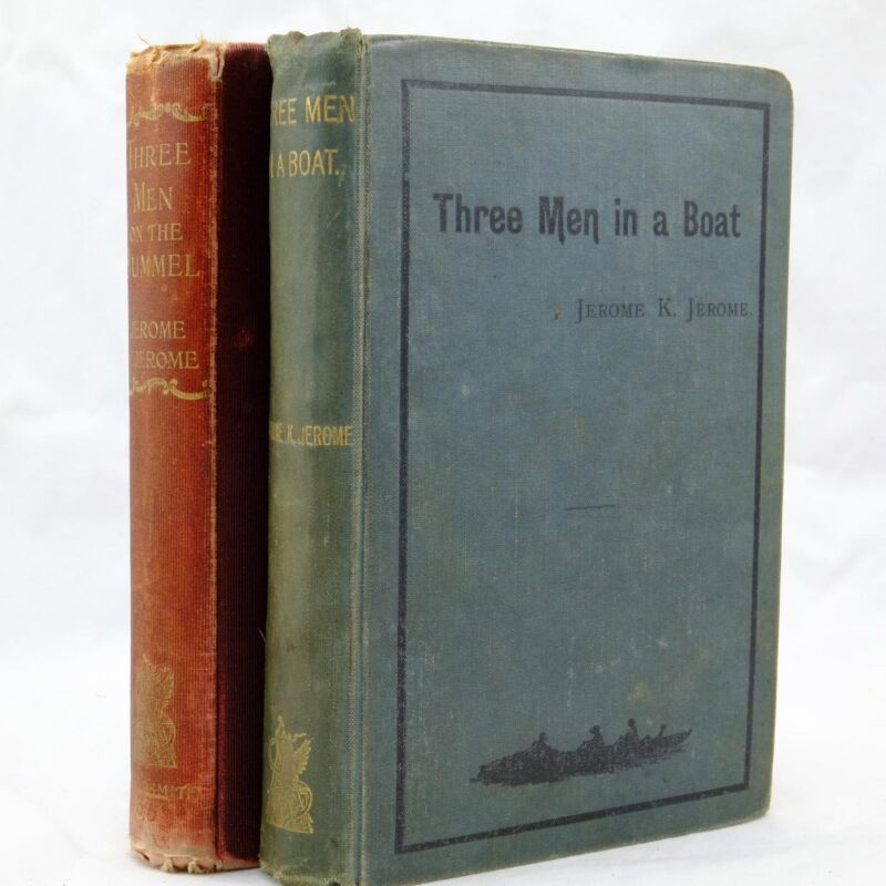 Three Men in a Boat. Bummel Jerome J Jerome