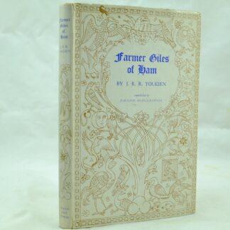 Farmer Giles of Ham by J R R Tolkien DJ 1st