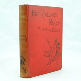 King Solomons Mines by H Rider Haggard