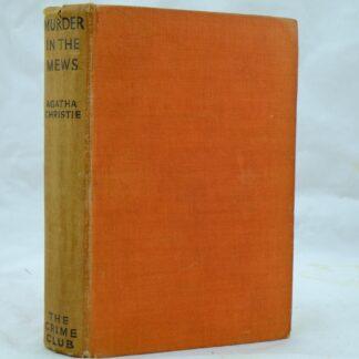 Murder in the Mews Agatha Christie rare