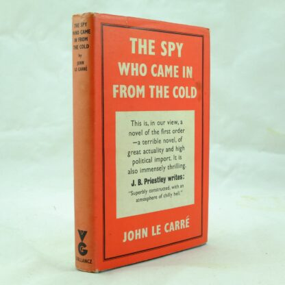The Spy Who Came in from the Cold by John Le Carre DJ (1)