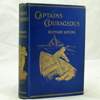 Captains Courageous by Rudyard Kipling 1st