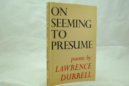 On Seeming to Presume by Lawrence Durrell (1)