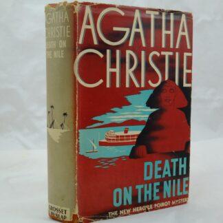 Agatha Christie Death on the Nile US edition