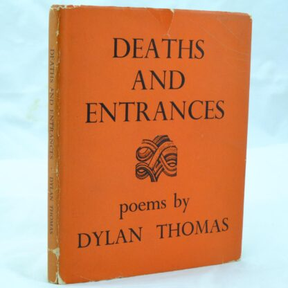 Deaths and Entrances by Dylan Thomas