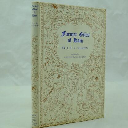 Farmer Giles of Ham by J R R Tolkien 4th 5th DJ (2)