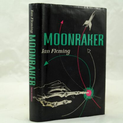 Moonraker by I. Fleming repaired DJ (8)