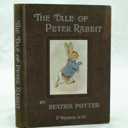 The Tale of Peter Rabbit by Beatrix Potter v g (1)